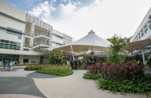 UWCSEA_Dover Campus Plaza overview