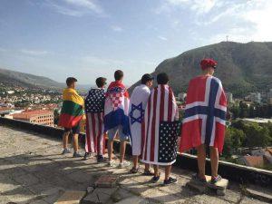 Utsikt over Mostar